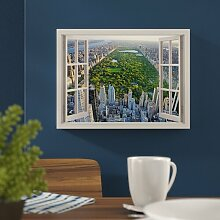 Leinwandbild New York City Central Park vor