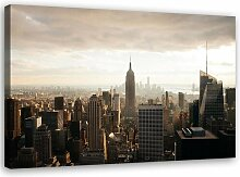 Leinwandbild Panorama von New York City