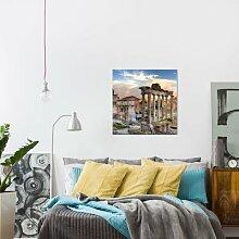 Leinwandbild Panorama von Rom