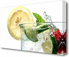 Leinwandbild Party-Drink East Urban Home