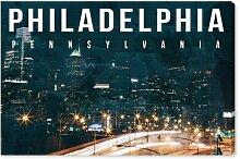 Leinwandbild Philadelphia Landschaft