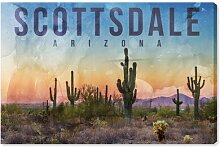 Leinwandbild Scottsdale Landschaft