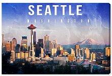Leinwandbild Seattle Landschaft