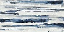 Leinwandbild Sodalith Haus am Meer