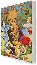 Leinwandbild The Wizard of Oz von William Wallace