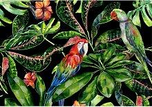 Leinwandbild Tropical Birds, 100 x 70 cm