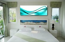 LeinwandBild Turquoise Design
