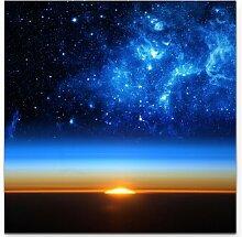 LeinwandbildUniversum bei Sonnenaufgang