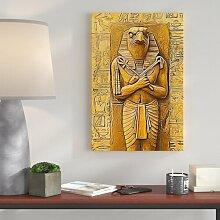 Dekofigur Ägyptische ISIS Göttin der Toten des Nordens Dekoration Deko Figur