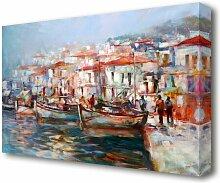 Leinwandbild Venedig Gemälde East Urban Home