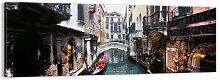 Leinwandbild Venezianische Landschaft mit einer