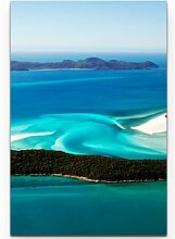LeinwandbildWhitehaven Beach – Australien