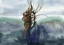 Leinwandbild Wind, 50 × 35 cm
