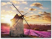 Leinwandbild Windmühle ModernMoments