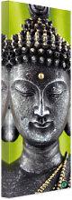 Leinwandbilder - Leinwandbild Green Buddha -