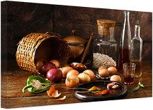 Leinwandbilder für küche  Leinwandbild Küche günstig online kaufen | LIONSHOME