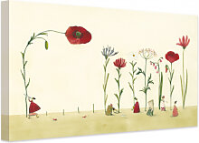Leinwandbilder - Leinwandbild Leffler - Blumensamen