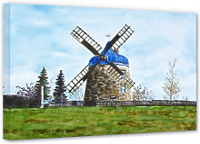 Leinwandbilder - Leinwandbild Toetzke - Traditionelle Windmühle