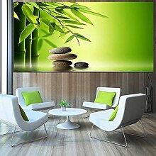 Leinwanddruck 50x100cm Rahmenlose Zen Dianthus