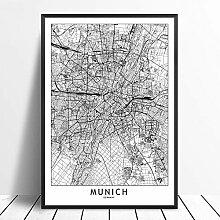 Leinwanddruck,Moderner Minimalismus München