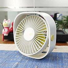 Leise Ventilator Rotation Mit Usb, Mini Flexible