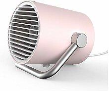 Leiser Mini-Ventilator-Pink