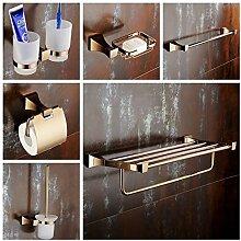 LEIT YFF Geschenk Badezimmer Zubehör Kupfer