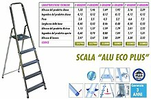 Leiter aus Aluminium Alu Eco Plus 3Stufen
