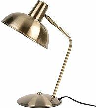 Leitmotiv Table lamp Hood Brushed Gold Plated Iron