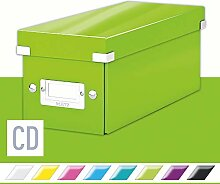 Leitz Aufbewahrungsbox Click & Store Wow CD,