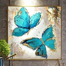 LELME Abstrakte Moderne Blaue