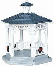 "Lemax - ""Gazebo with Decorations"" -"