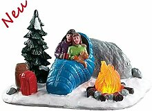 Lemax 84361 - Night Time Campfire - Lagerfeuer Bei