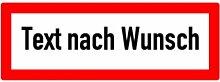 LEMAX® Aufkleber Brandschutzschild nach DIN 4066