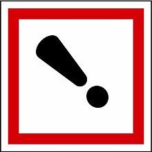 LEMAX® Aufkleber GHS 07 Gefahrensymbol