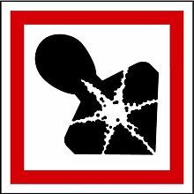 LEMAX® Aufkleber GHS 08 Gefahrensymbol