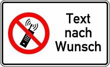 LEMAX® Aufkleber Handy benutzen verboten mit Text