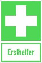 LEMAX® Aufkleber Symbol Erste Hilfe, Ersthelfer