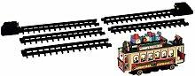 Lemax - Santas Cable Car - Eisenbahn - Gerade