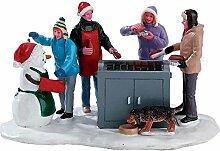 Lemax Snowy BBQ - beleuchteter Grill -