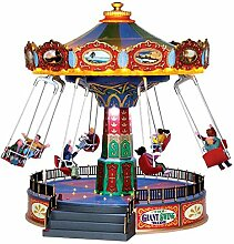 Lemax The Giant Swing Ride - Animiertes &