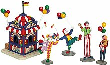 Lemax - Ticket Booth with Figurines -