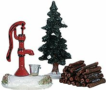 LEMAX - Water Pump, Tree & Firewood 34953