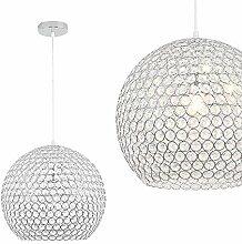 LeMeiZhiJia Moderne Kugel Kristall Pendelleuchte -