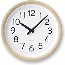 Lemnos PIL12-10 Day To Day Clock, natur