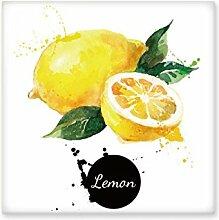 Lemon Fruit Tasty Gesunde Watercolor Keramik