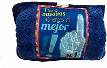 LEMON TREE SL Elektrische Wärmflasche blau