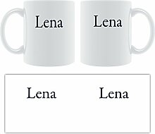 Lena Classic Schrift mit Serifen-Tasse,