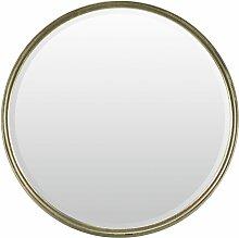 Lenfra Rahmenspiegel-rund Calgary, (1 St.) T: 6 cm