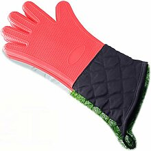 Lengthen Mikrowelle Handschuhe, Silikon Grilling